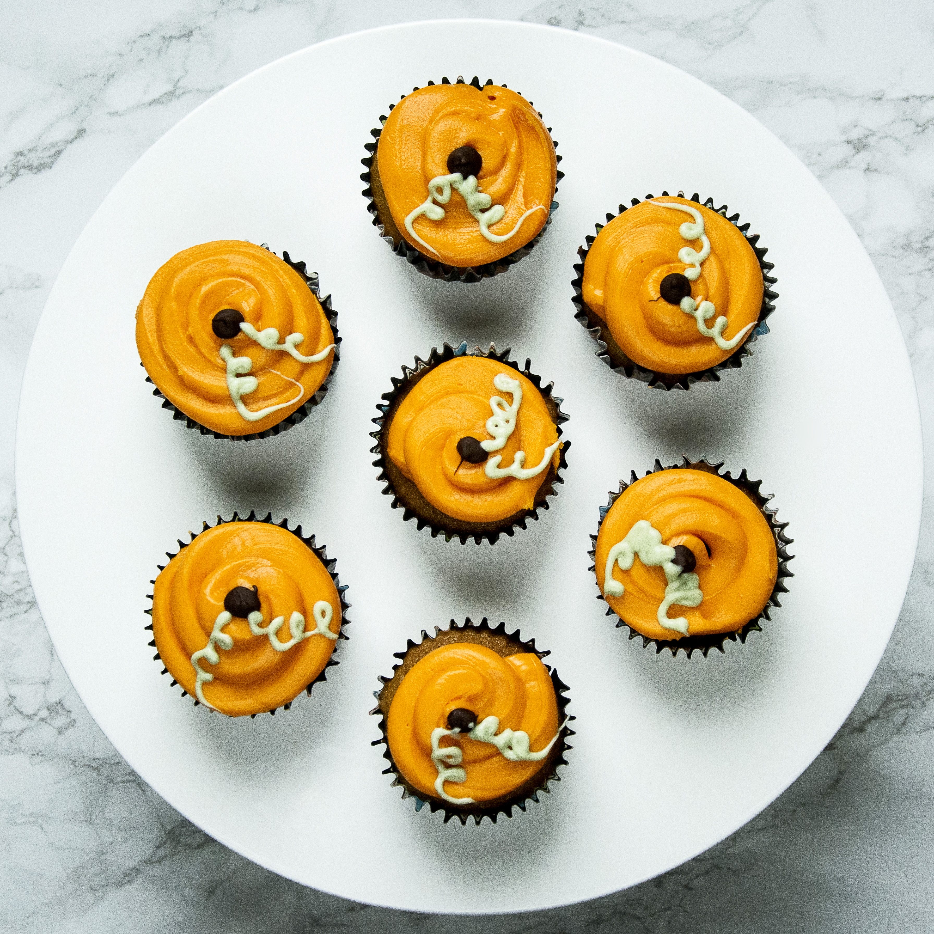 Pumpkin Cupcakes - Whats Eating Manchester Halloween Cupcakes Pumpkin spiced halloween cupcakes