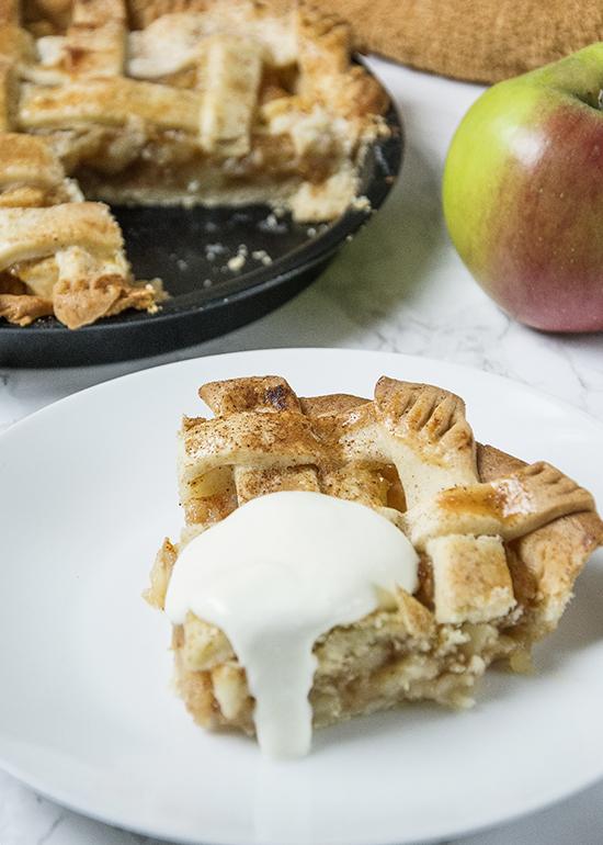 spiced apple pie